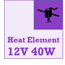 12V 40 Watt - Ceramic Cartridge Heater