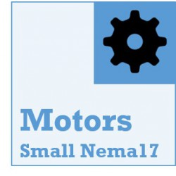 Small NEMA17 Stepper Motors
