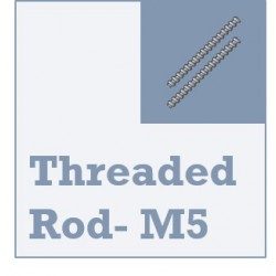 Threaded Rod (M5) - 5mm Diameter