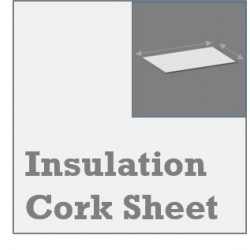 Insulation Corksheet for 3DPrint Beds