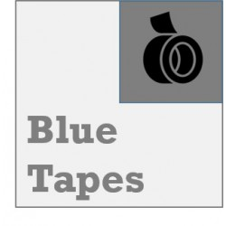 3D Printer Blue Tape - 50mm wide - 50m