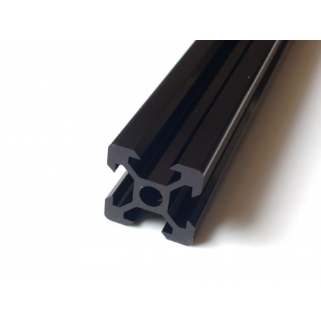 V2020 Aluminium Profile 20x20 V Slot 6 (Black)